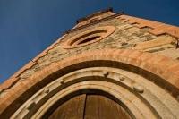 Detall de l'Església de Sant Martí d'Urtx