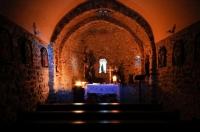Il·luminació interior de l'Església de Sant Miquel de Soriguerola
