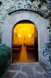 Entrada principal de l'Església de Santa Eulàlia d'Estoll