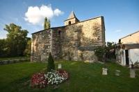 Exteriors de l'Església de Santa Eulàlia d'Estoll