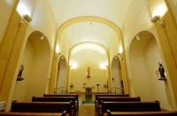 Interior de l'Església de Santa Eulàlia d'Estoll
