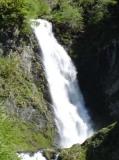 Cascada Saut deth Pish amb 35 m de desnivell