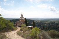 Vista de dalt del castell.