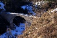 Pont de Vallonga al municipi de Guixers
