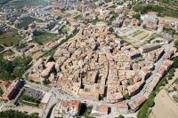 Vista aerea del municipi de Solsona