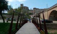 Camí de la ribera sota l'avinguda del Pont