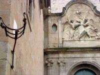 Detall d'un edifici al municipi de Solsona