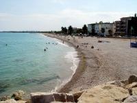 Vista de la platja de Les Cases-Marjal.