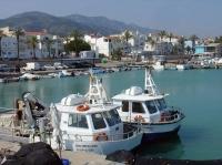 Port pesquer de Les Cases.