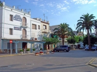 Plaça de Sant Pere.