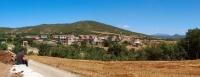 panoràmica d'Alentorn, pedania d'Artesa de Segre, és el poble dels forcaires