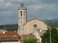 Església parroquial Santa Coloma, patrona de la vila.