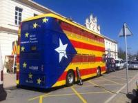El bus cap a la independencia, mercat del ram de vic.