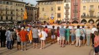 Plaça Major: Demanant poder exercir el dret a votar