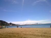 vista de la platja
