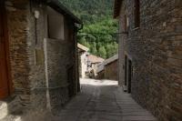 Vista dels carrers     Araós