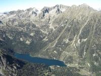 L'estany de Sant Maurici, al Parc Nacional d'Aigüestortes i Estany de Sant Maurici.