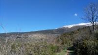 Vista de Dòrria, Toses des del GR11 des de Planoles fins a Dòrria.