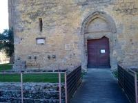 entrada de l'Església de Sant Miquel