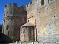 vista posterior de l'Església de Sant Miquel