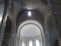 interior de l'Església de Sant Miquel, arcs dels sostre