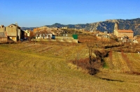 Vista del poble d'Ulldemolins, el Priorat.