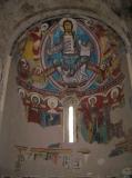 El Pantocràtor de la Església romànica de Sant Climent de Taüll, a Taüll