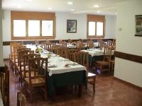 Interior del restaurant amb una capacitat per 130 començals.