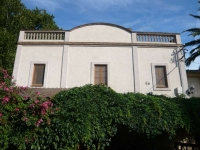 Façana del restaurant Font de la Pineda.