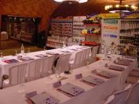 Espais interiors per a convencions i reunions d'empresa