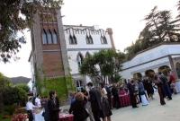 Banquets en espais a l'aire lliure.