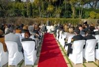 Casaments en espais exteriors.