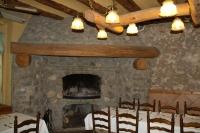 La llar de foc al segon menjador