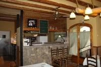 La barra i l'entrada al Restaurant