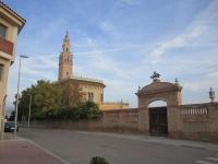 La Giralda de L'Arboç, visitable (5€), rèplica de la de Sevilla.