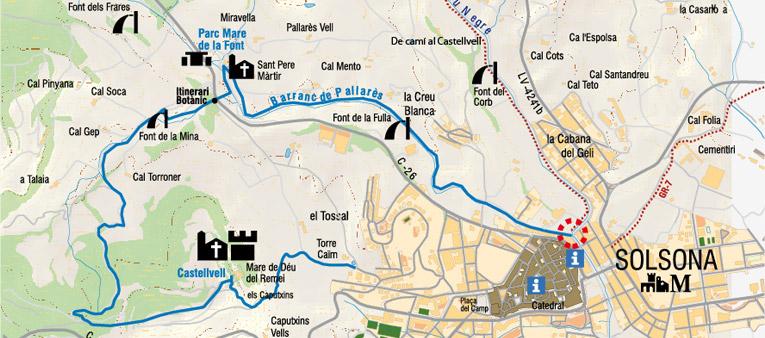 Ruta Mare de la Font – Castellvell