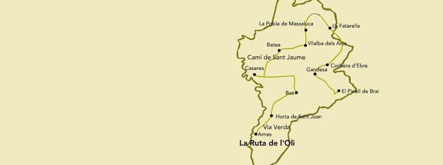Ruta de l'Oli a la comarca de la Terra Alta