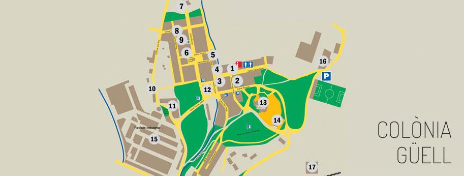 Visita guiada a la Colònia Güell